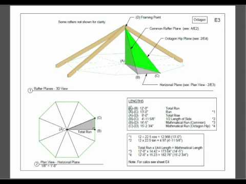 Gazebo Roof Framing   Part 1   YouTube