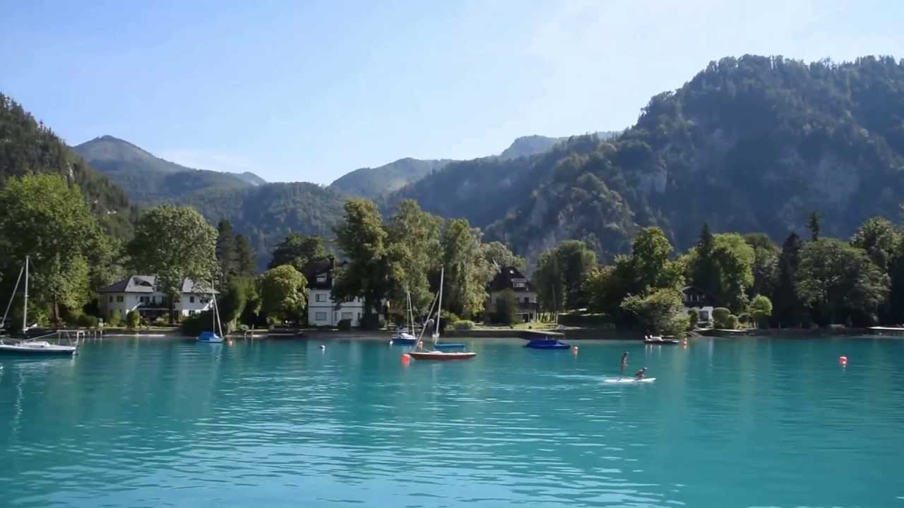 Holidays In Austria Attersee Youtube