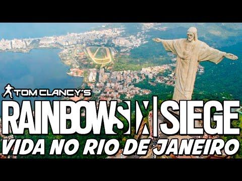Rainbow Six Siege – Vida no Rio de Janeiro? É GUERRA, RAPÁ!
