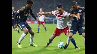 Video Gol Pertandingan Hamburger SV vs RasenBallsport Leipzig
