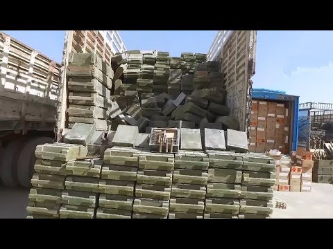 Syrian Army captured insane amount of weaponry ( PART 2 )