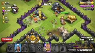 Clash of clans ქართულად gowiva attack strategy