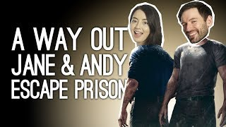 A Way Out Gameplay: JANE AND ANDY ESCAPE PRISON - Let