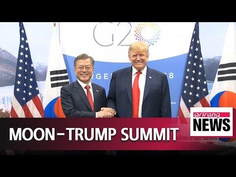 Moon, Trump agree next N. Korea-U.S. summit will create momentum for denuclearization