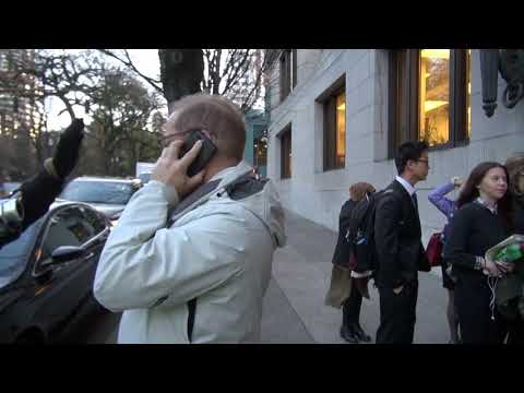 first amendment audit on Multnomah county courthouse