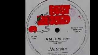 """Natasha – AM-FM (Rap) 1983 (12"""", Maxi)"""