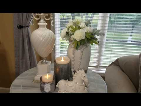 Tips & Ideas on Decorating A Side Table/Quick Tip Wednesday