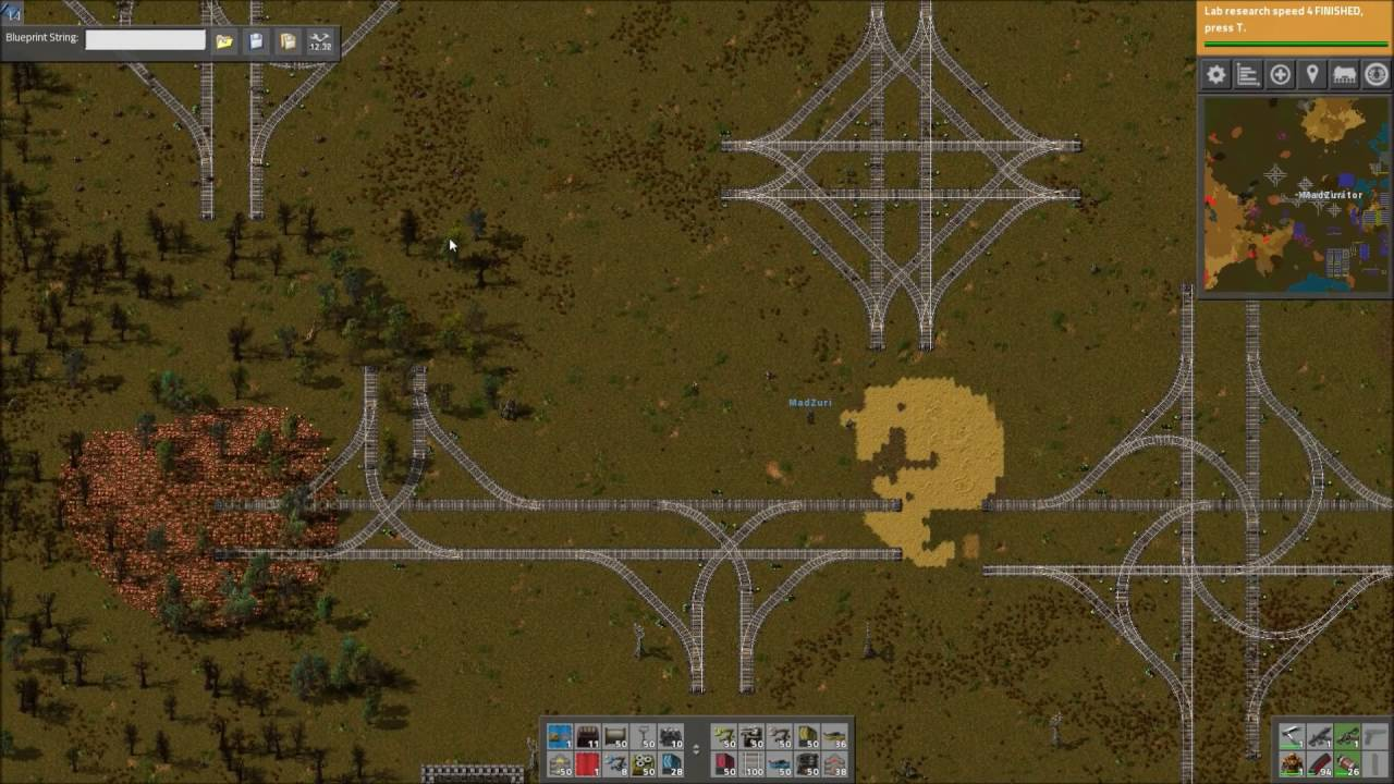 Factorio Workshop - Building A Better Factory :: The1Wolf34's 4-Way Rail  Junction by Xterminator