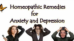 Homeopathic Remedies for Anxiety and Depression - Cure Treatment