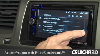 Sony XAV-602BT Car Stereo Display and Controls Demo | Crutchfield Video