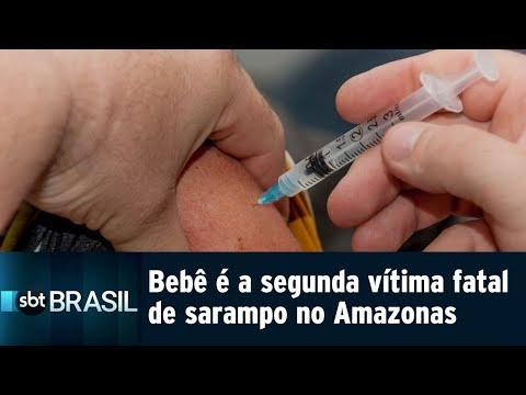 Governo do Amazonas confirma segunda morte por sarampo no estado | SBT Brasil (15/08/18)