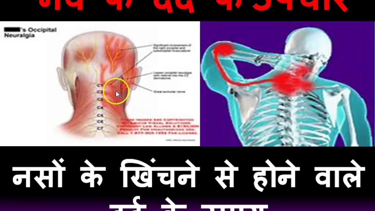 नसों के खिंचने से दर्द के उपचार (Nerves dard ke upchar)