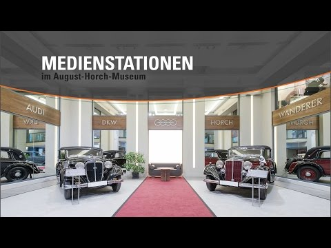 Medienstationen – August Horch Museum