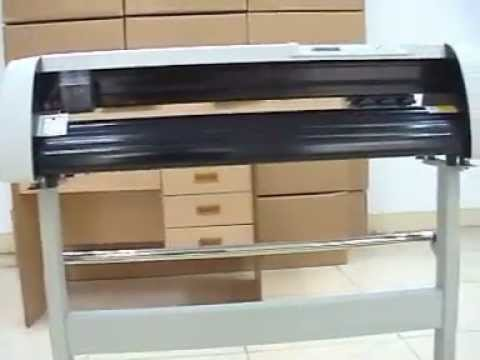 Vinyl And Sticker Cutting Plotter From King Rabbit Youtube