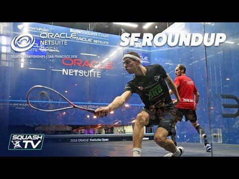 Squash: Oracle NetSuite Open 2018 - Men\'s Semi-Final Roundup