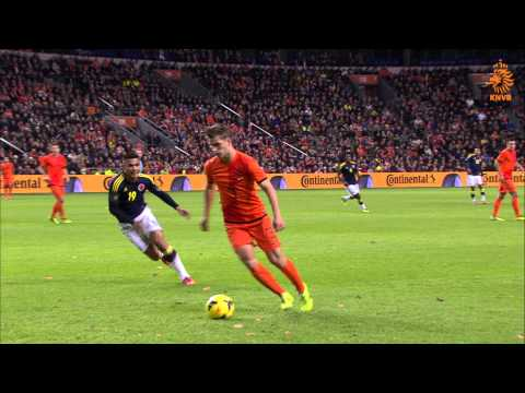 Joël Veltman na goed Oranjedebuut: 'Was niet perfect'