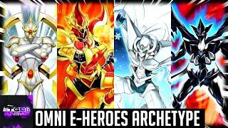 Yugioh Trivia: Omni-Elemental Heroes Archetype