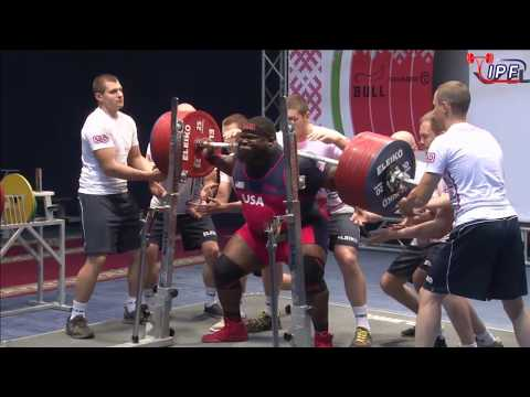 Ray Williams - 1090kg 1st Place 120+kg - IPF World Classic Powerlifting Championships 2017