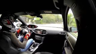 New 308 gti by peugeotsport hillclimb buzet 2016