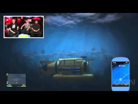 GTA 5: Undersea Exploration - IGN Live