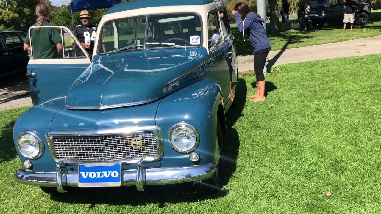 Slo Rolling Festival 2018 Vintage Volvo Car Show In California