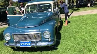 SLO Rolling Festival 2018 - Vintage Volvo Car Show in California