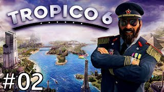 Tropico 6 #02 Let's Play, Penultimo Of The Caribbean Part 2