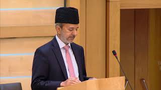 Ahmadiyya Muslim Community presenting in Scottish Parliament 2018