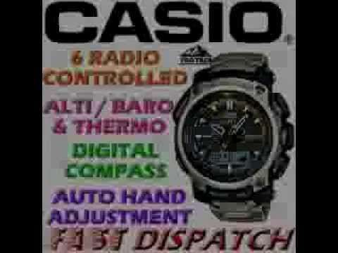 casio pathfinder triple sensor watch manual