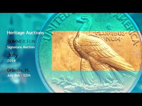 Heritage Auctions (HA.com) -- July 2014 Summer FUN U.S. Coins Signature Auction
