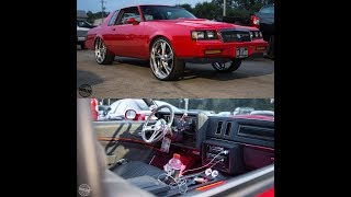 "Chicago Whips : Red Buick Grand National on 24/26"" Billets #MrDiditAgain"