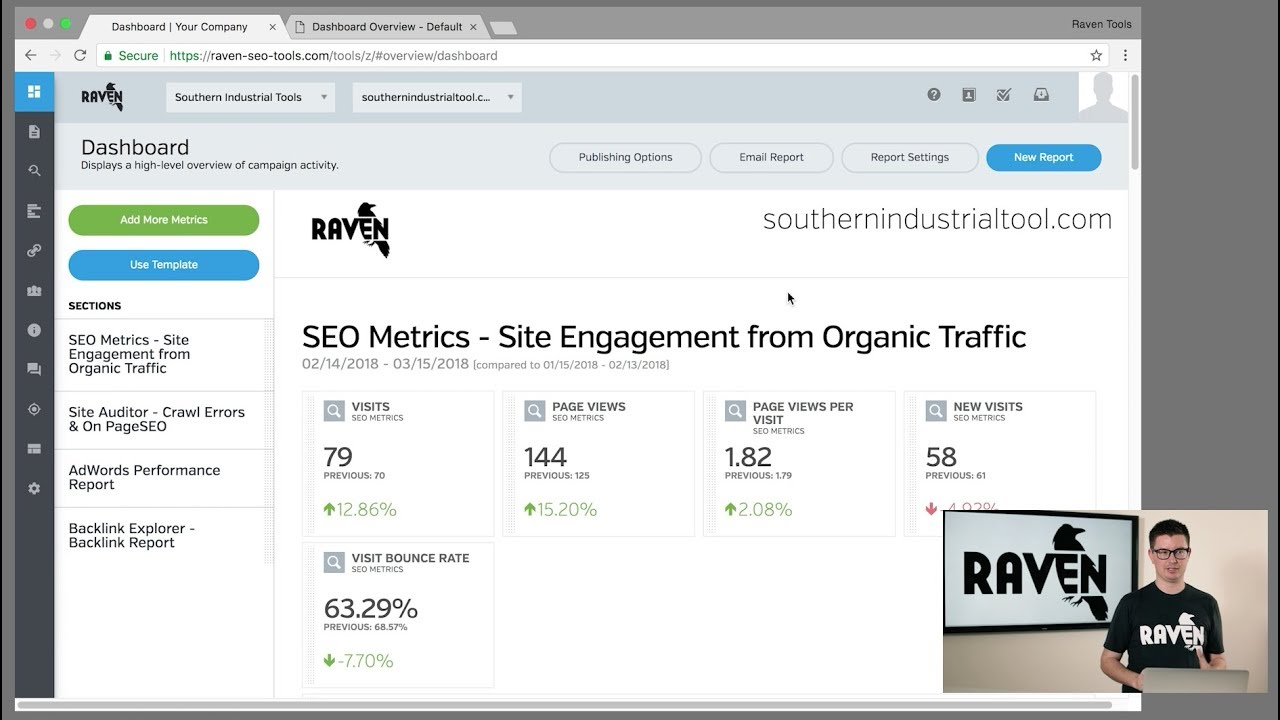 SEO Tools for Link Building, Research and Reporting