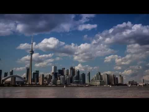 Time lapse CN tower