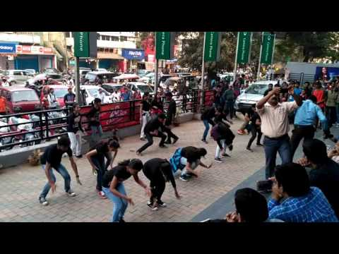 Flash mob , central university of jharkhand
