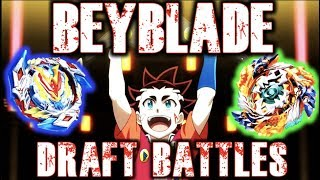 Beyblade Draft Battles!