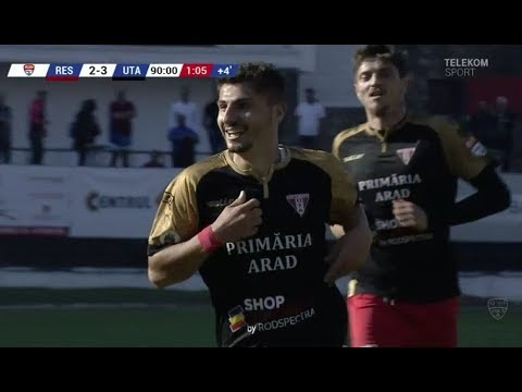 Bicycle kick from outside the box in 2nd League in Romania from Romario Moise [UTA Arad] '90+1