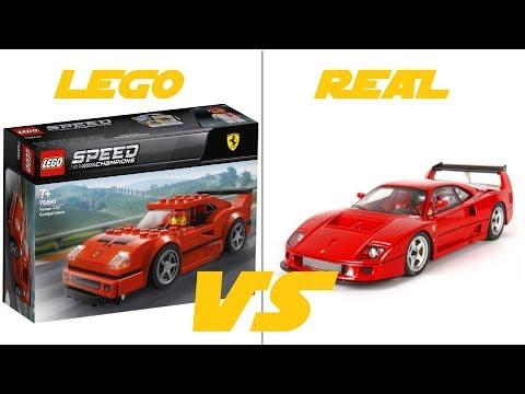 lego speed champions 2019 75890 ferrari f40 competizione. Black Bedroom Furniture Sets. Home Design Ideas