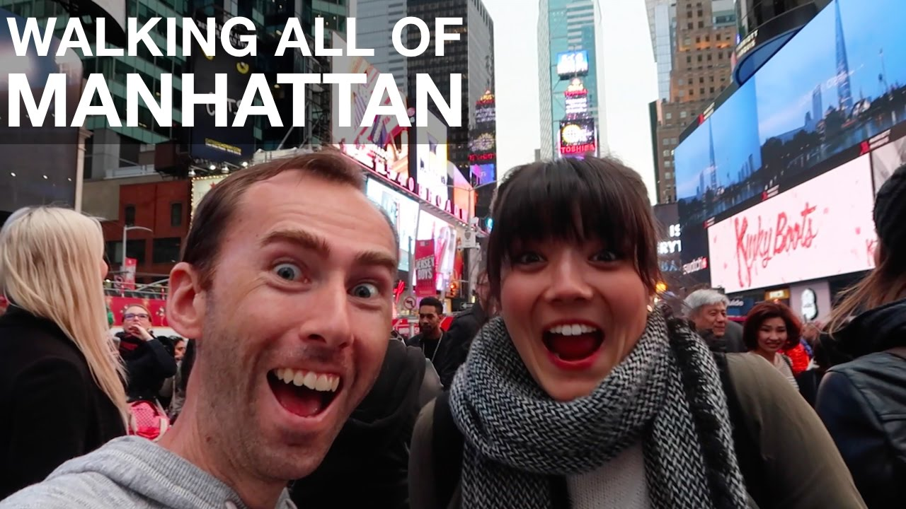 Download Walking ALL OF MANHATTAN in One Day