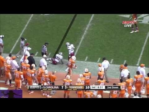 Justin Worley vs. South Carolina (2013)
