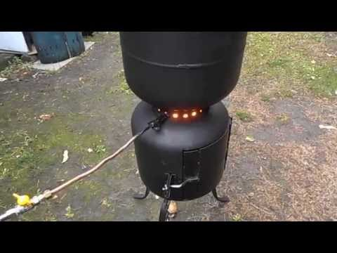 Free energy and heating waste motor oil stove experim for Heater that burns used motor oil