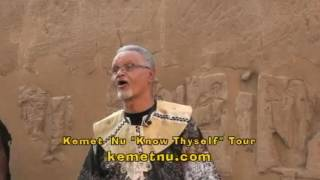 Ashra Kwesi Speaks on the Rosetta Stone, the Medu Neter and the Plunder of Kemet