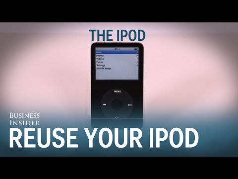5 Ways To Reuse Your Old iPod