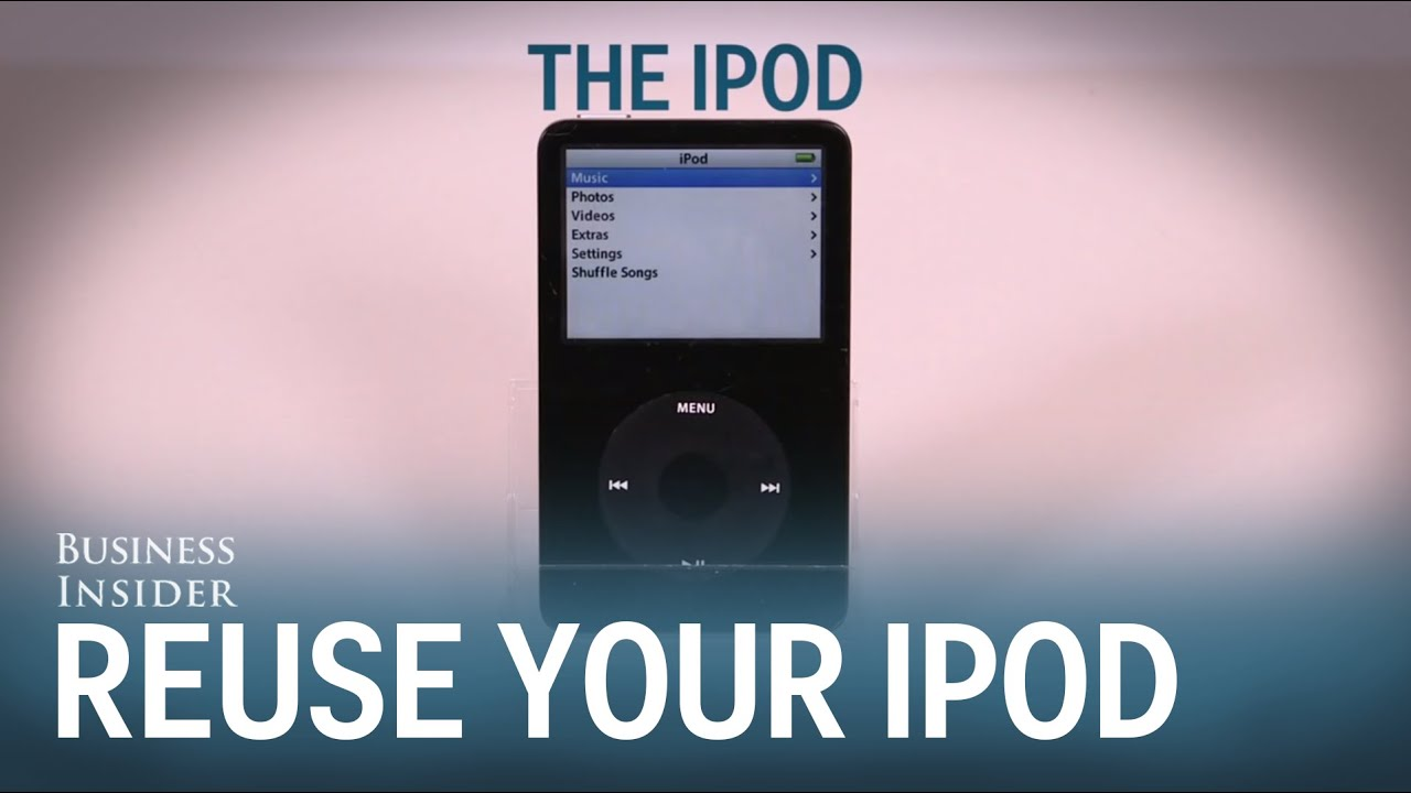 the right way to use an ipod