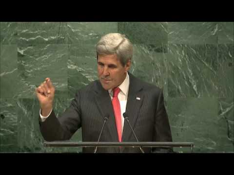 Secretary Kerry Delivers Remarks at the U.N. Paris Agreement Entry