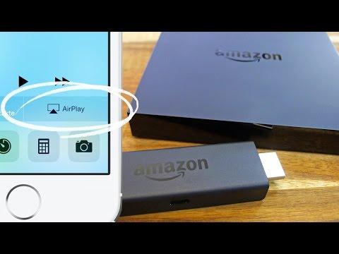 Amazon FireTV Stick iPhone AirPlay verwenden, AirReceiver Tutorial auf Deutsch