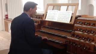 Dialogue sur les grands jeux by Clérambault. David Cook playing the Holzhey organ of 1793 in Rot.