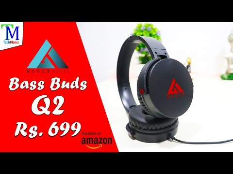 Boult Audio Bass Buds Q2 Over-Ear Headphone at Rs. 699 on Amazon | Unboxing & Review in Hindi.
