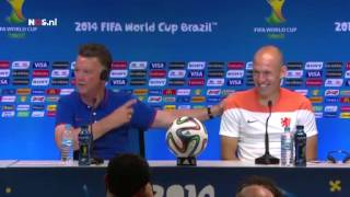 Van Gaal: helaas pindakaas   NOS WK Voetbal