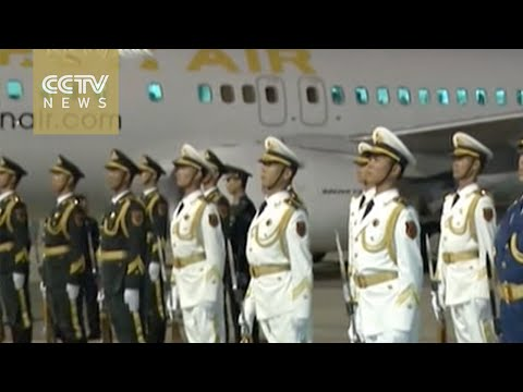 Foreign leaders arrive in Beijing for V-Day parade