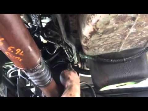 2003 Dodge Ram 2500 Cummins 48RE transmission cooler line